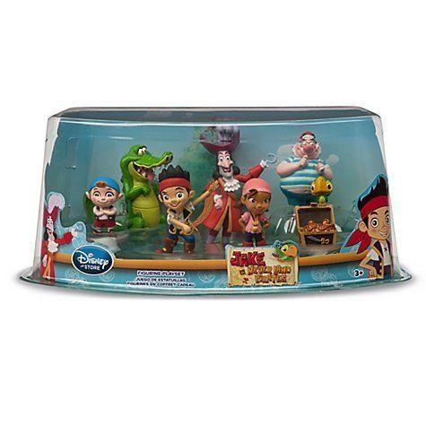 Disney Jake & The Neverland Pirates 7 Figure Set: Amazon.fr: Jeux et Jouets
