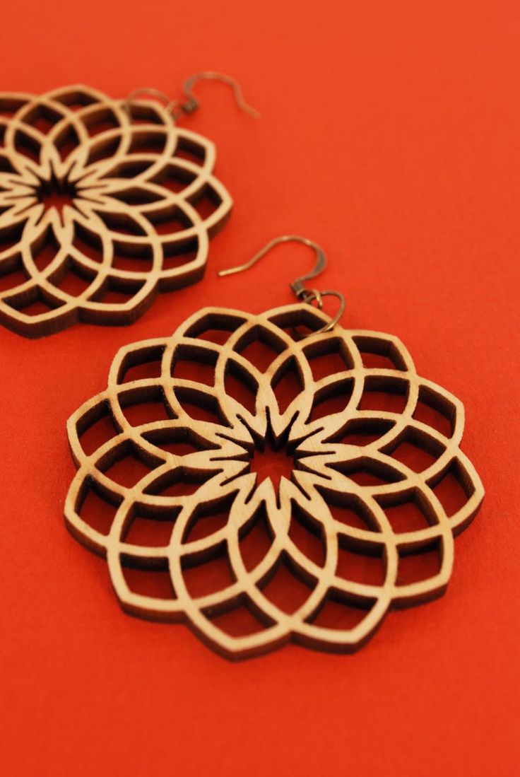 125 Best Images About Laser Cut On Pinterest Earrings