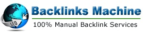 100% manual link building service with many packages including social media link building