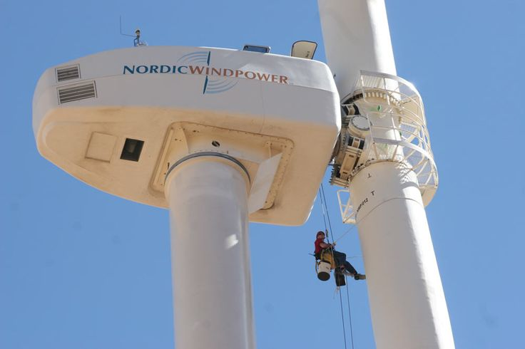 Rope Access work on Tafarya Wind Farm Morocco (Josh) Rope Access - wind turbine repair sample resume