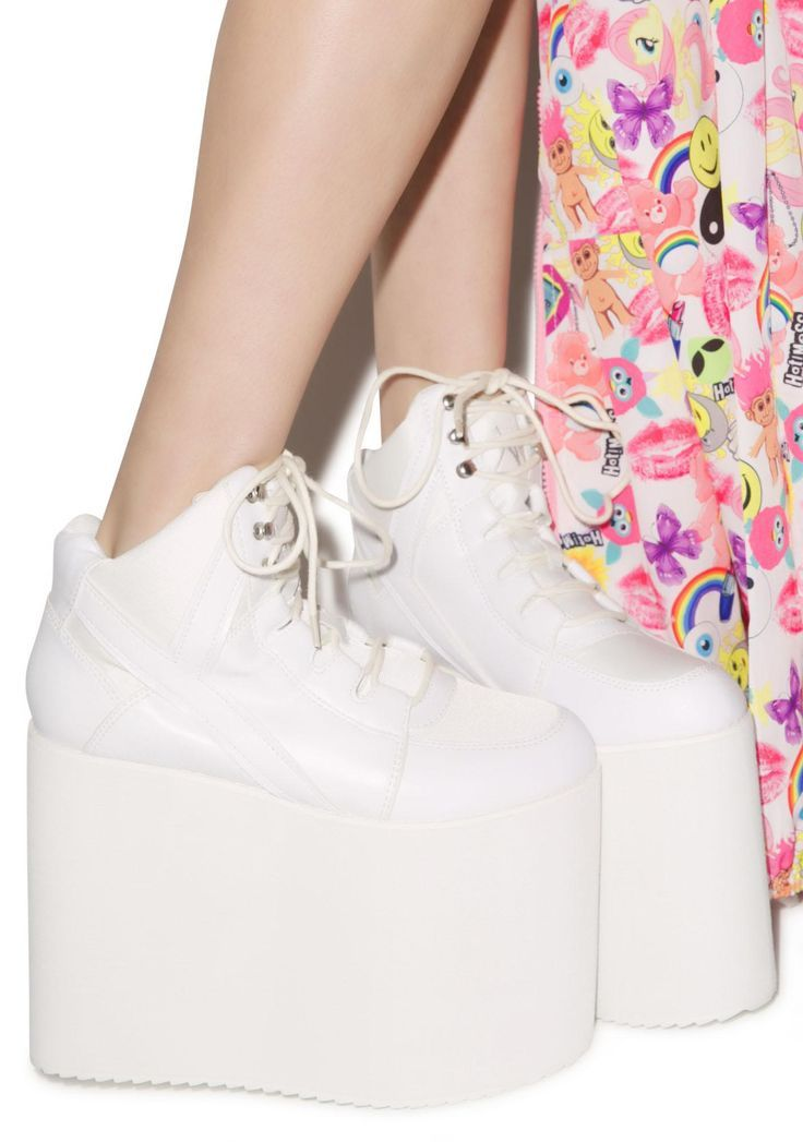 Spice girls shoes, Platform sneakers