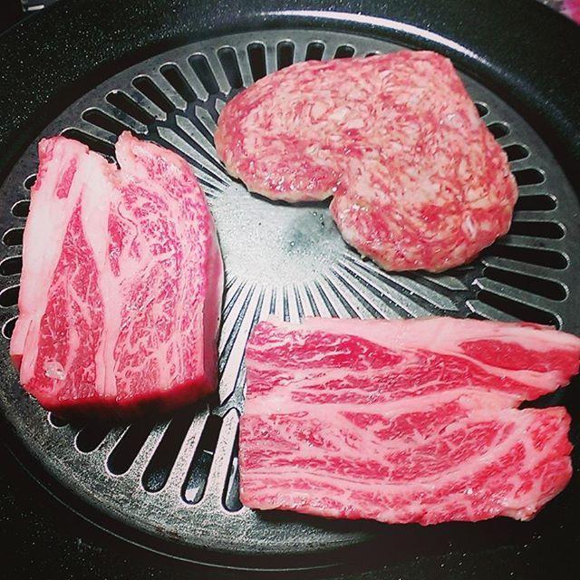 なんでもない日に前沢牛!!! #ごはん #焼肉 #前沢牛 #ステーキ #肉 #おいしい #最高