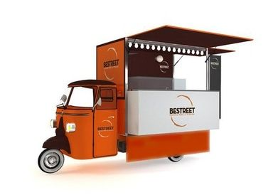 PIAGGIO CLASSIC STREET FOOD VANS IRELAND UK AND EUROPE