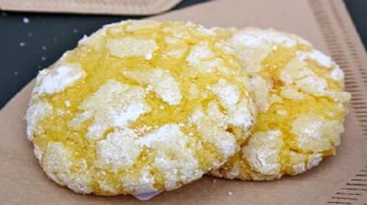 Обалденное лимонное печенье