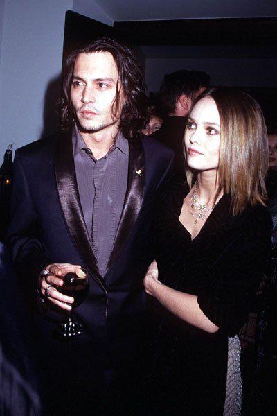 Johnny Depp and Vanessa Paradis — the Way They Were