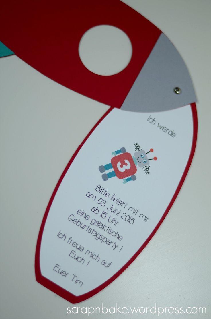 Hübsche Einladungskarten Kann Man Auch Einfach Selbst Gestalten. Damit  Stimmt Man Die Kids Auch Für