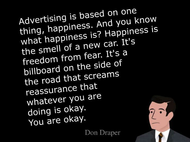 don draper advertising quotes - Google Search