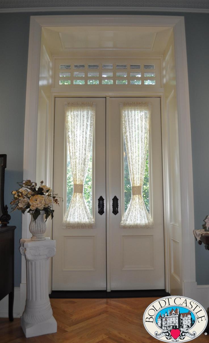 Exterior glass panel double door with custom 21 lite - Exterior glass panel french doors ...