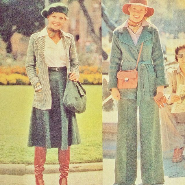 1970s fashion | From The Australian Women's Weekly, 7 April 1976
