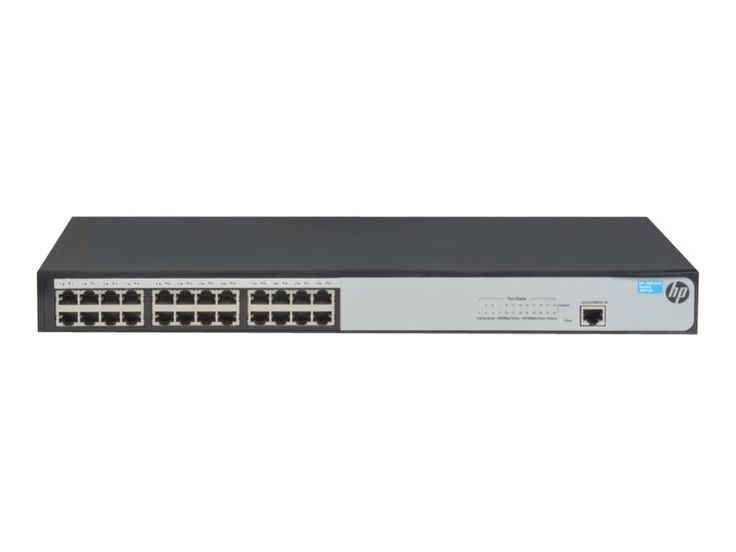 The HPE 1620 Gigabit Switch Series is an entry-level, smart-managed switch ideal for small businesses looking for basic network features to enhance network performance but without the added complexity and cost of more advanced switches. Part of the HP OfficeConnect portfolio, these switches are plug-and-play out of the box.  #RackSimply #HPE