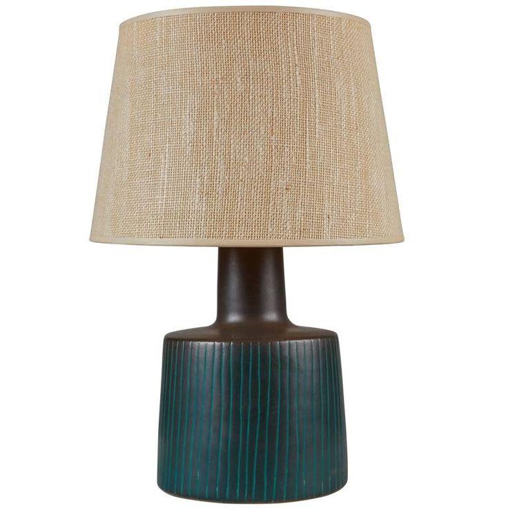 Studio Ceramic Table Lamp by Gordon Martz 1