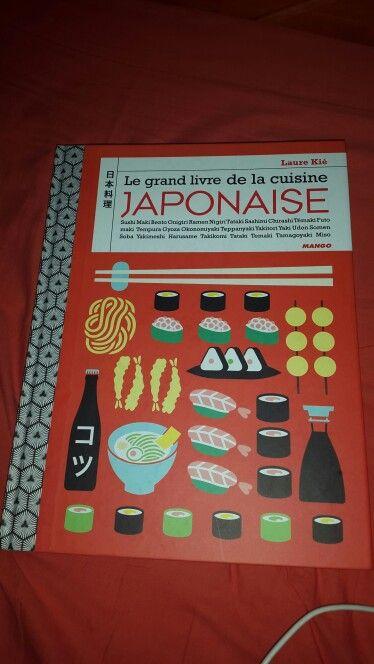 le grand livre de la cuisine japonaise un cadeau de no l que j 39 appr cie beaucoup japan. Black Bedroom Furniture Sets. Home Design Ideas