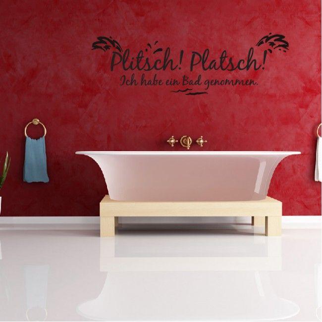 20+ beste ideeën over Wandtattoo Bad op Pinterest - wandtattoos fürs badezimmer