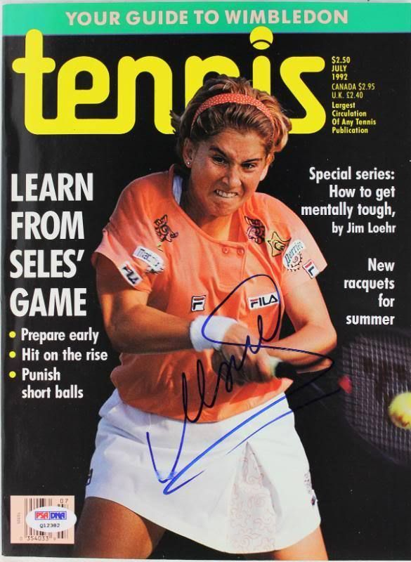Monica Seles Authentic Signed 1992 Tennis Magazine PSA/DNA #Q12382  Price : 119.99  Buy it now price :  Current bids :  Ends on : 5 days  Shop now  - #Tennis https://lastreviews.net/sports-fitness/tennis/monica-seles-authentic-signed-1992-tennis-magazine-psadna-q12382/