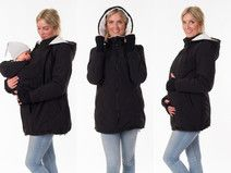 3in1 Tragejacke Umstandsjacke Softshell Winter