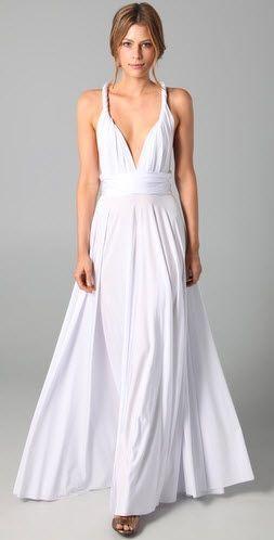 Best 25 jersey knit dress ideas on pinterest maxi dress for Jersey knit wedding dress