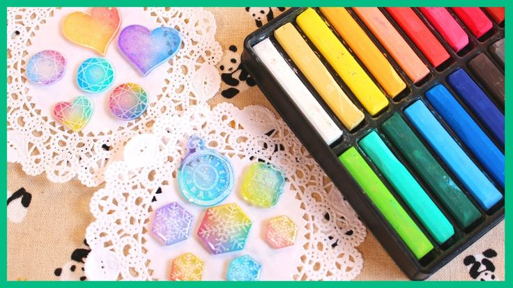 How to Color Shrink Plastic with Chalk Pastels [Collab ft. PolymomoTea]