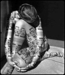 we are the music, she is just another music book