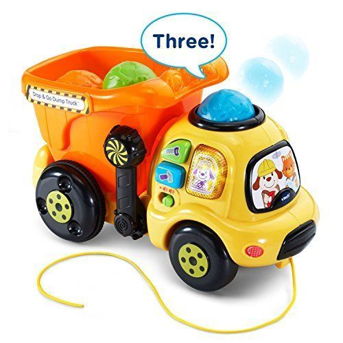 3 Ball Drop and Go Dump Truck Online Exclusive Car Other Preschool Pretend Toys #VTech