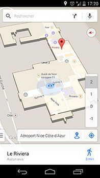Google Indoor Map à l'Aéroport Nice Côte d'Azur #NiceAirport #Google http://www.nice.aeroport.fr/Passagers/Actualites/Test-de-la-technologie-Google-Indoor-Maps