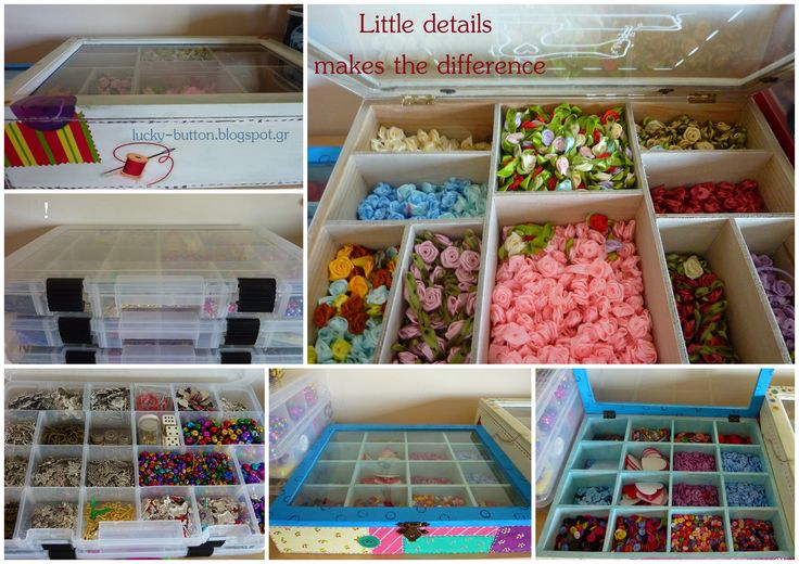 Organizing little things