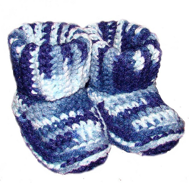 14 Best Baby Booties Images On Pinterest Baby Slippers