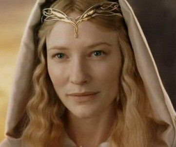 Galadriel (LOTR) played by Cate Blanchett