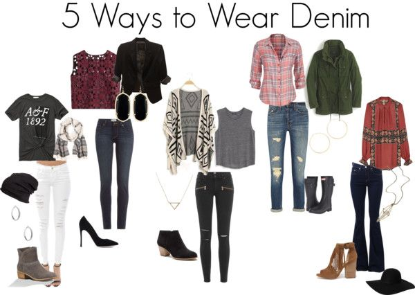 5 Ways to Wear Denim