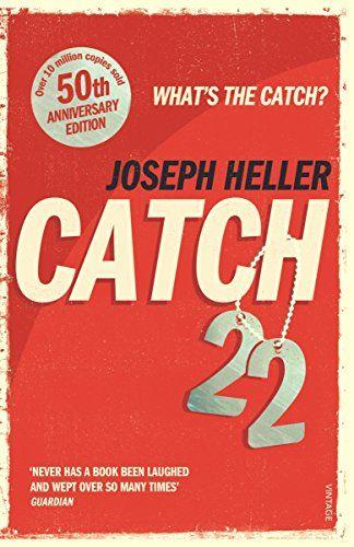 Catch-22: 50th Anniversary Edition by Joseph Heller https://www.amazon.co.uk/dp/0099529122/ref=cm_sw_r_pi_dp_x_VgihAbWSCAN3A