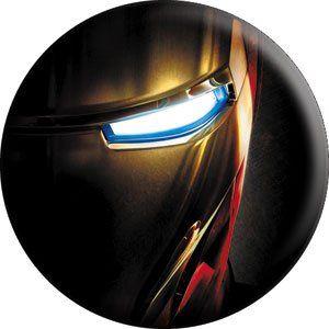 Marvel Iron Man Movie Button B-IRN-0004 @ niftywarehouse.com #NiftyWarehouse #IronMan #Iron-man #Marvel #Avengers #TheAvengers #ComicBooks #Movies