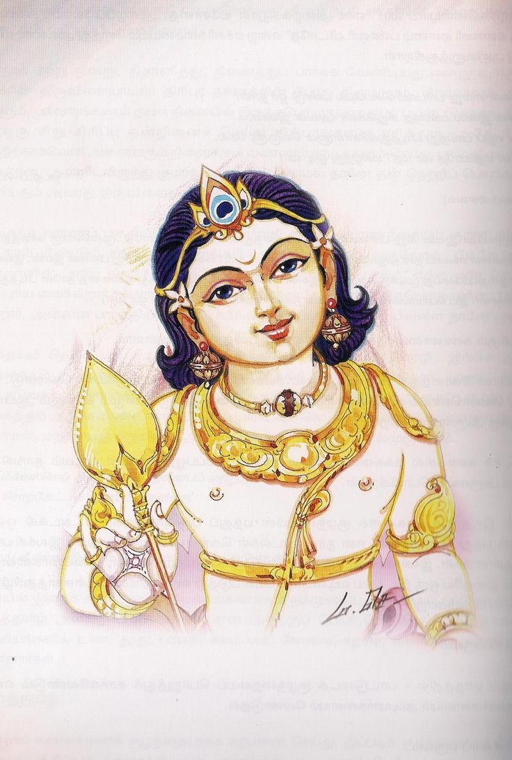 bala murugan, at least once I must try to draw this good picture of my dear Murugan Lord