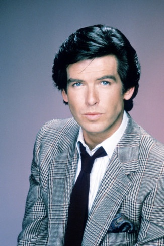 Pierce Brosnan as Remington Steele. Loved that show!! OMG! He was so gorgeous in it!!