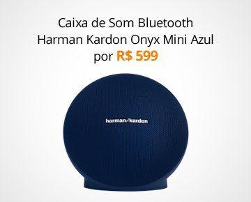 Caixa de Som Bluetooth Harman Kardon Onyx Mini Azul