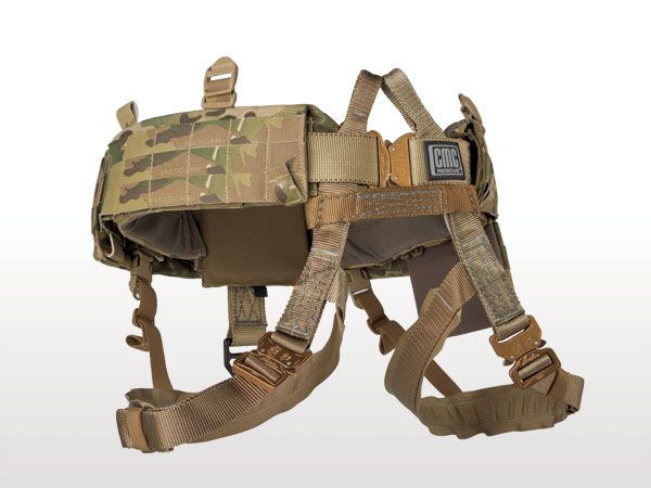 The M-Harness™ Quick Release and Padding System (QRPS) is a padded MOLLE belt with an integrated class 2 harness. The leg loops can be completely removed so that the main belt can be worn as a normal 'battle' belt if desired.  This adds versatility to the product and reduces the amount of equipment you need to carry.  If high angle retention or suspension is required, the leg loops can be donned in seconds to convert the belt into a harness.