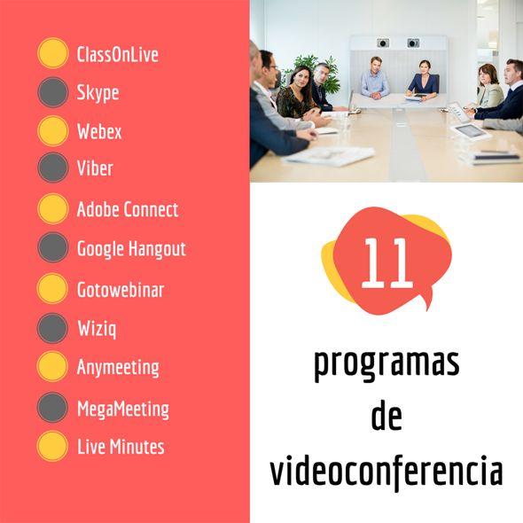 11 programas de videoconferencia - ClassOnLive