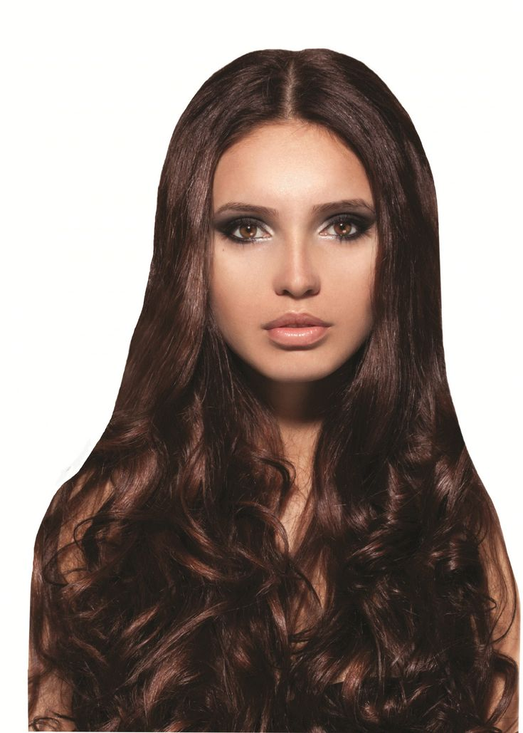 Mia® Clip-n-Hair®, Clip On Synthetic Wig Hair Piece, on Weft Clips, Medium Brown Color, for Women, Teens, Dress-up, Halloween 1pc