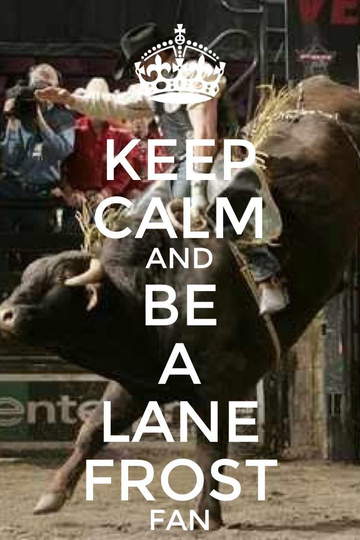 Lane Frost's last ride.