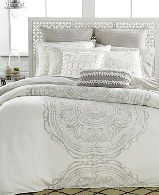 Bar III Token King Duvet Cover - Bedding Collections - Bed & Bath - Macy's