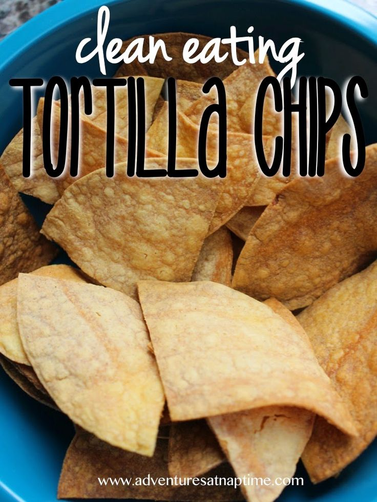 Homemade | Clean Eating | Tortilla Chips