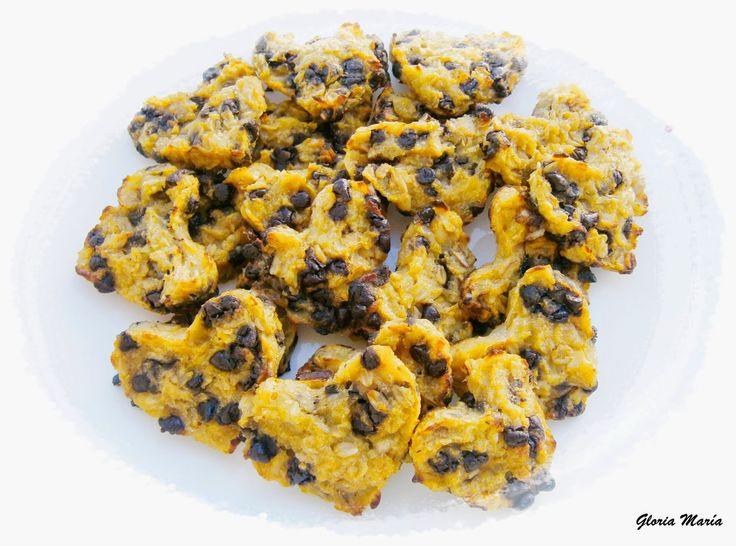 Chocolate y Purpurina:  COOKIES SEMI-BLANDAS DE MANZANA Y CHOCOLATE      ...