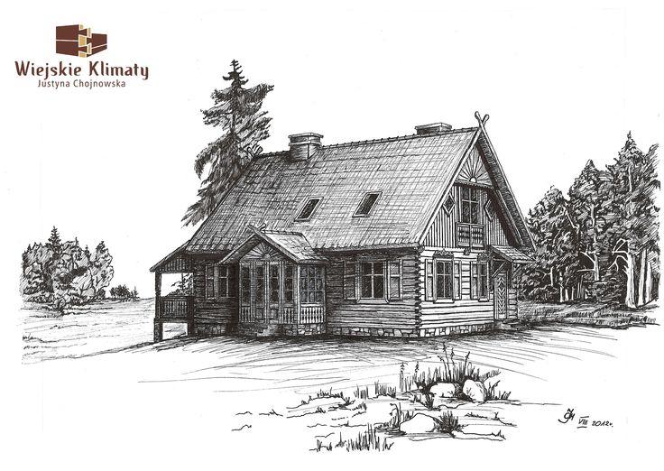 Drewniane Domy Chrzanowscy - Portfolio Categories Wiejskie Klimaty Justyna Chojnowska