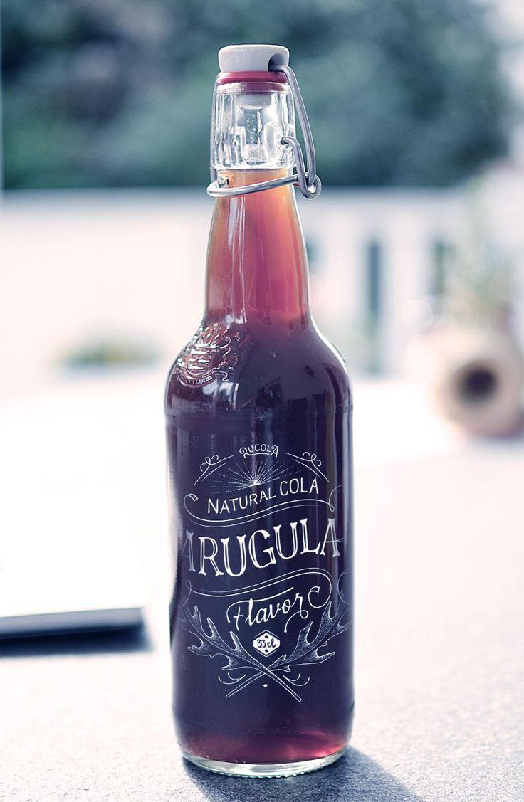 Förpackad -Blogg om Förpackningsdesign, Förpackningar, Grafisk Design » Ruccola-cola!? - CAP&Design - Nordens största tidning för kreativa f...
