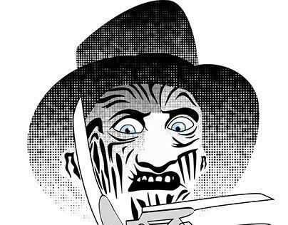 "Check out new work on my @Behance portfolio: ""Freddy Krueger"" http://on.be.net/1WeeKLi"