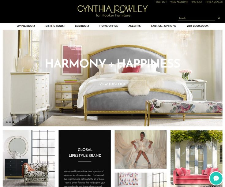 Harmony and Happiness  is one of three major lifestyle and personality  decorating themes for the Cynthia Rowley for website. 15 best Cynthia Rowley by Hooker Furniture images on Pinterest