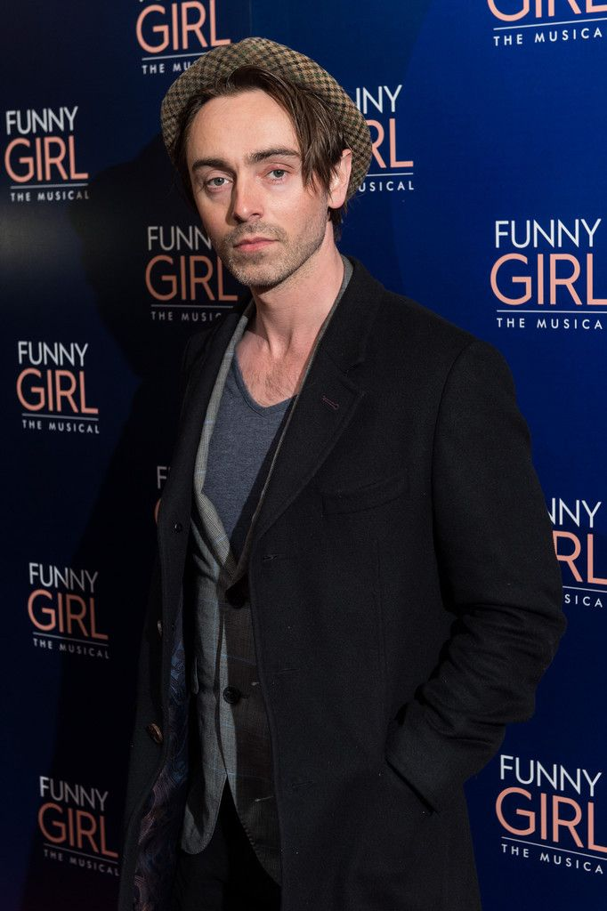 "David Dawson Photos Photos - David Dawson attends the press night of ""Funny Girl"" at The Savoy Theatre on April 20, 2016 in London, England. - Press Night for 'Funny Girl' at the Savoy Theatre"