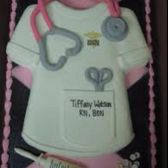 Nursing School Cake Ideas