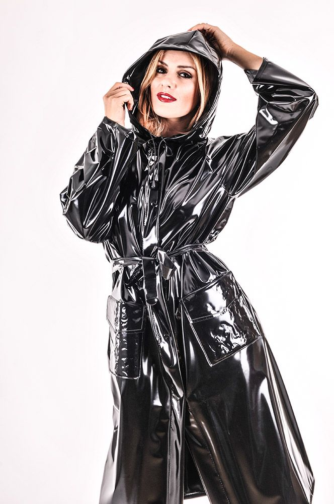 Ladies Fashion Pvc Macs