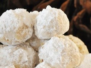 Grandma's Snow Ball Cookies - melts in your mouth (click image for recipe)