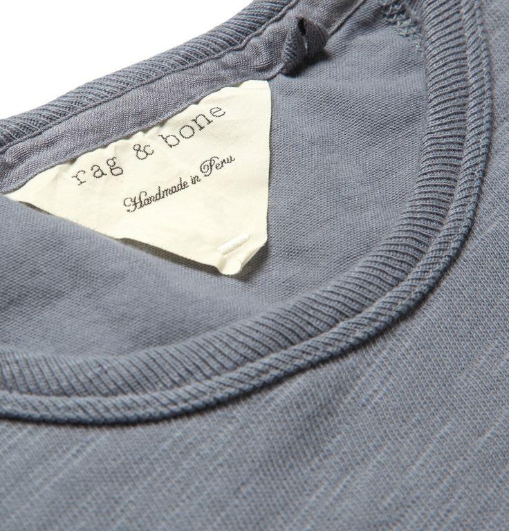 Rag & bone - Slub Cotton-Jersey T-Shirt|MR PORTER