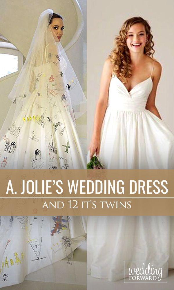 Oltre 25 fantastiche idee su Vestido de noiva angelina jolie su